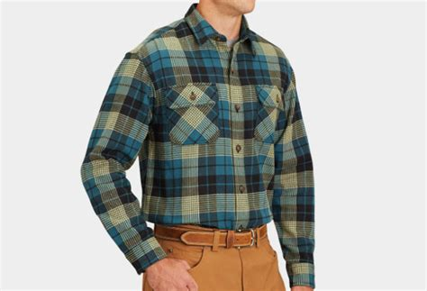 duluth trading free swinging flannel the best flannel shirts for men cool material