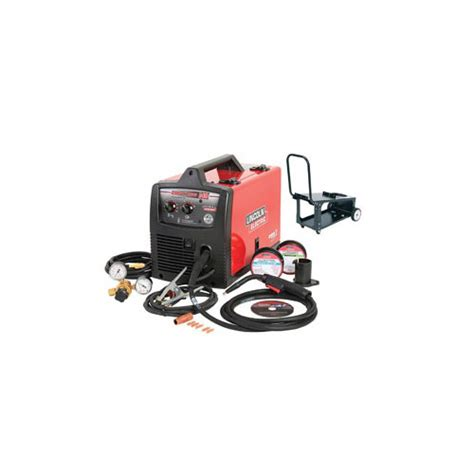 lincoln welders 140 lincoln electric k4085 1 easy mig 140 welder with cart