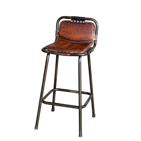 Vintage Industrial Counter Stools by Leather Bar Stool By Primitivebypriti On Etsy 65 00 I
