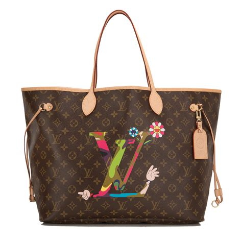 Limited Edition Louis Vuitton Murakami Neverfull by Louis Vuitton Moca Murakami Neverfull Gm World S Best