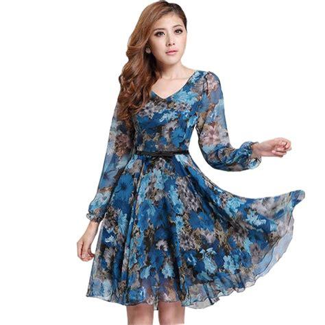 Dress Brokat Flowers Antiiqa 1 2017 s floral print vintage dress plus size sweet sleeve v neck casual summer
