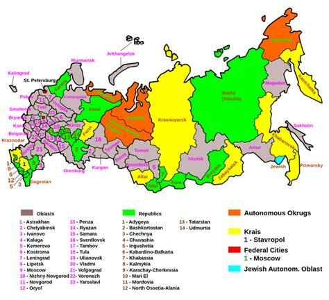 russia map states russia maps eurasian geopolitics
