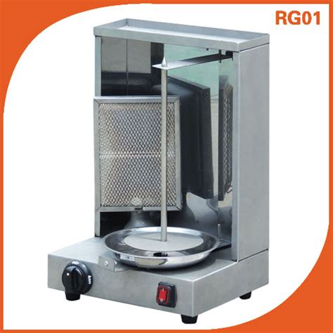 Small Grill Machine For Home Single Burner Gas Doner Shawarma Machine