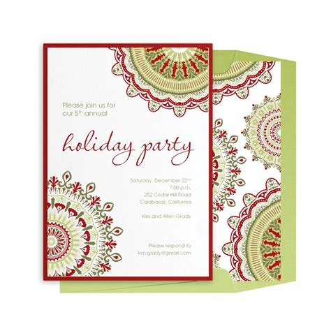 creative holiday invitation wording cogimbo us