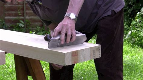 youtube bench how to build a workbench part 2 planing and preparing