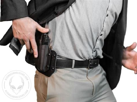 concealed carry knife holster concealed carry with an owb holster gear holsters