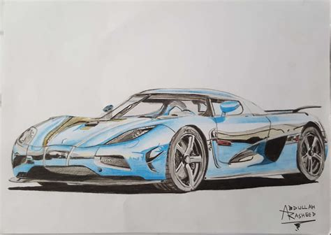 koenigsegg car drawing koenigsegg agera r by abdullahrasheed on deviantart