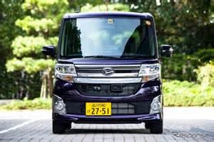 Daihatsu Jp Japan Year 2014 Kei Cars Surge Daihatsu Tanto
