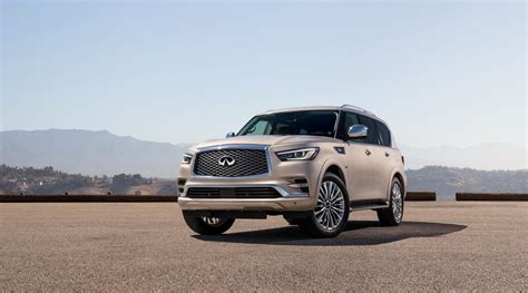 infiniti car qx80 infiniti updates its qx80 land yacht for 2018 autotribute