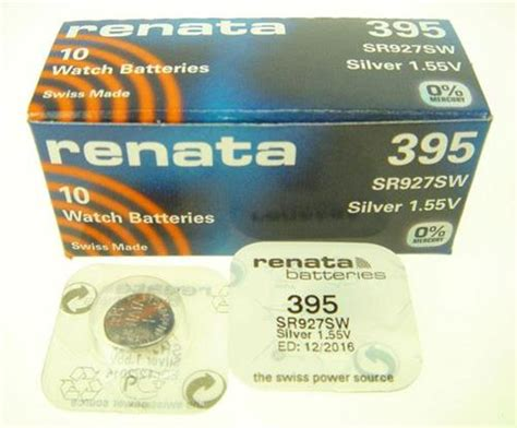 Baterai Kancing Button Cell Sr927sw 395 Original 395 sr927sw silver oxide button cell battery swiss made 1 pc my thai craft