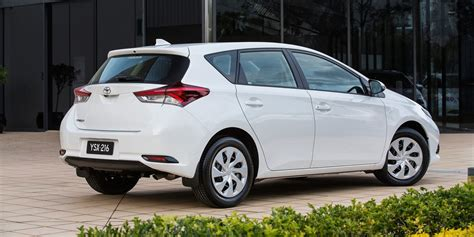 toyota price 2015 toyota corolla hatch pricing and specifications