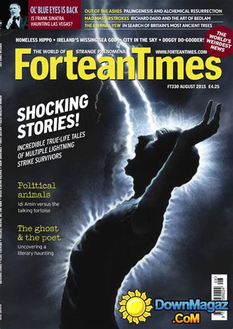 fortean times uk august    magazines