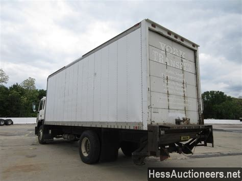volvo truck and trailer for sale used 1996 volvo fe 42 box van truck for sale in pa 24034