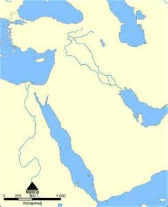 Ancient Near East Map Outline by Blank Map Ancient Near East