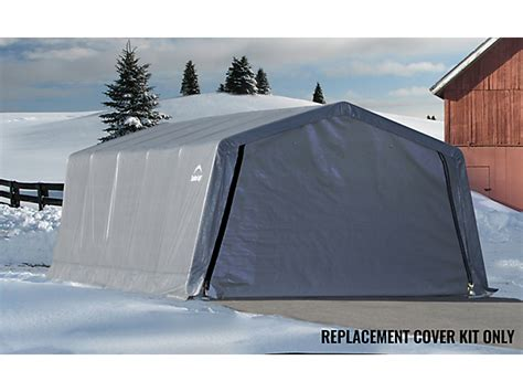 Shelterlogic Garage Replacement Covers replacement cover kit for the garage in a box 174 12 x 20 x 8 ft