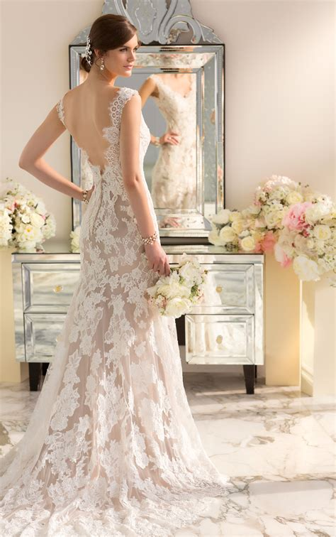 modern vintage wedding dresses essense of australia