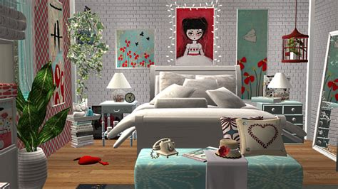 Sims 2 Bedroom by Sims 2 Creations By Tara Blue And
