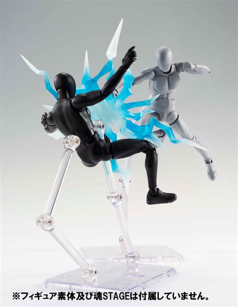 Tamashii Effect Wave Clear Misb Ori New Bandai Indo amiami character hobby shop tamashii effect thunder blue ver released