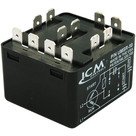 umsr 50 universal motor starting relay from icm controls