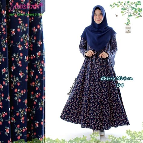 Daily Tunik Balotelli sold out cherry michan navy 04 michan co id