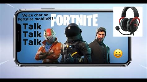 fortnite voice chat not working how to use voice chat in fortnite mobile