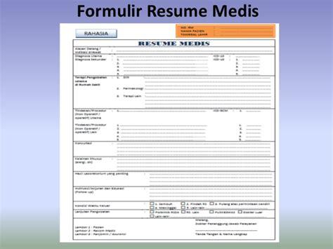 contoh format askep asma analisis formulir resume medis