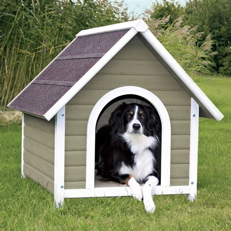 outside dog houses trixie natura nantucket dog house medium marty pinterest