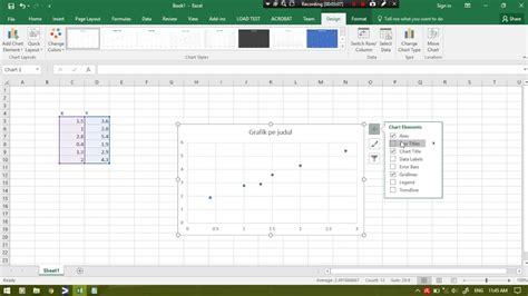 cara membuat grafik nilai di excel tutorial membuat grafik regresi dan nilai korelasi dengan