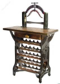 Cast Iron Wine Racks For Sale by Quot The Henley Quot Mangle Wine Rack Table Antiques