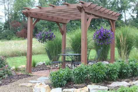 Arbor Pergola by Pergolas Arbors And Garden Structures Building Our Farm