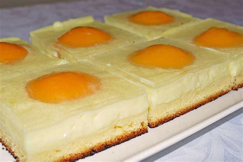 kuchen spiegelei spiegeleikuchen vom blech rezept mit bild paula18
