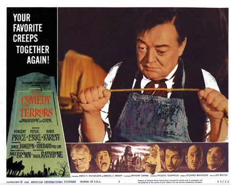 film comedy of terrors peter lorre images comedy of terrors lobby card hd