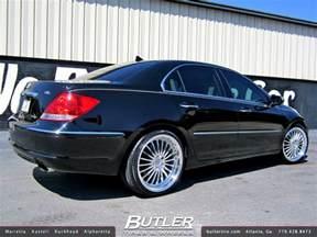 acura rl with 20in tsw silverstone wheels a photo on