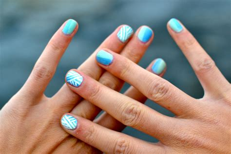 easy nail art blue and white blue nail designs polish 2015 reasabaidhean