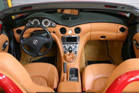 maserati spyder interior maserati interior colors pictures part design