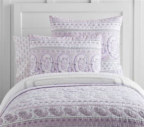 paisley quilt bedding keira paisley quilted bedding pottery barn kids