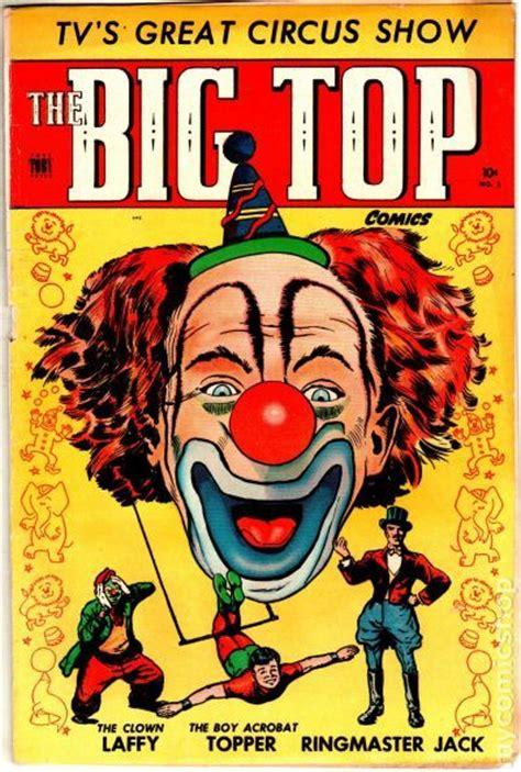 circus picture books big top comics 1951 comic books