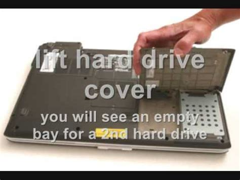 how to add a 2nd hard drive to a dell inspiron 1720, 7121