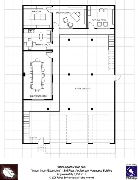 Modern Floorplans Two Story Warehouse Fabled Warehouse Office Floor Plans