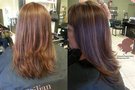 haircuts and more abq hair color reddish brown highlights low lights square