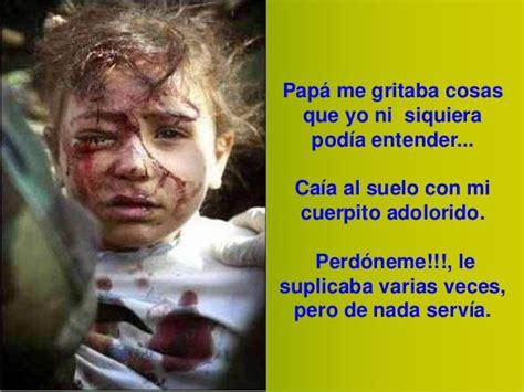 imagenes fuertes de niños maltratados ni 241 os maltratados