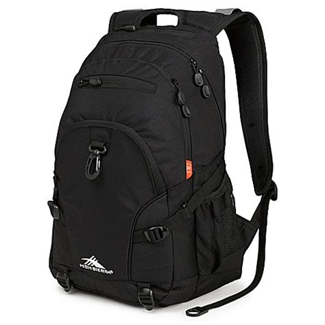 buy high sierra® loop 19 inch backpack in black from bed