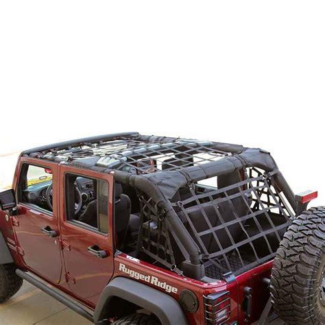 Jeep Wrangler Door Nets 4 Door Jeep Wrangler Cargo Net Car Interior Design