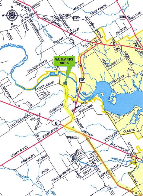 where is waco on map paul derrick s stargazer programs