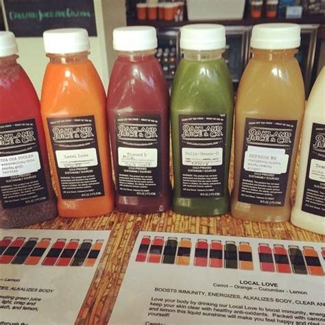 Flt Detox by Ms Barstool Fruity Infusions At Oakland Juice Co