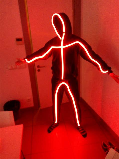 Lu Led Neon Flex hombre palito stickman cableluminoso