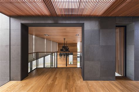 Nine Wood Ceiling by Gallery Of Mimosa Road Park Associates Pte Ltd 9