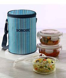Lunch Box Klip To Keep 750 Ml Kotak Makan Bulat 750 Ml borosil kitchenware at best price in india buy snapdeal