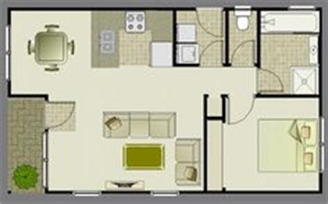 granny unit cost 1 bedroom apartment floor plans 500 sf du apartments
