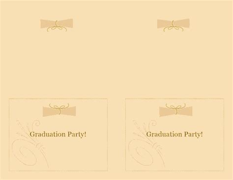 avery 3379 note card template free printable invitations of graduation